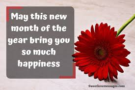 new month quotes and prayers for sweet love messages