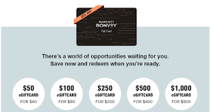 marriott gift cards at 20 off may 11
