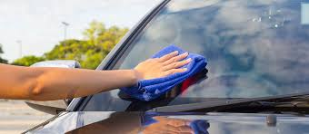 remove scratches from a windshield