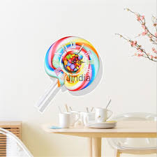 3d Wall Clocks Diy Rome Digital Watch Wall Sticker Home Decor Lollipop Wall Clock Sticker Diy Clock Wall Wall Stickers Home Decor