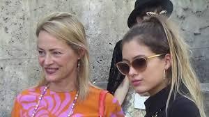 Gabrielle Lazure & Emma Canot @ Paris Fashion Week 28 septembre ...