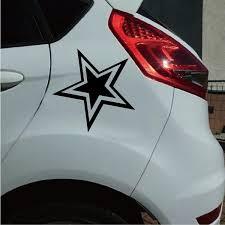 New Fashion Star Decal Car Sticker Jdm Dallas Stars Northern Stars Laptop Sticker Wish
