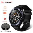 LEMFO LEM12 Smart Watch 4G Face ID 1.6 inch Full