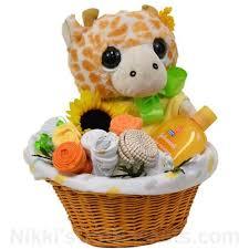 baby giraffe flower pot new baby gift
