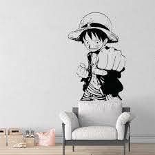 One Piece Monkey D Luffy Vinyl Wall Art Decal