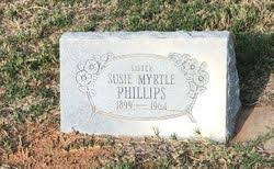 Susie Myrtle Phillips (1899-1964) - Find A Grave Memorial