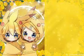 002 Tarjetas De Kagamine Rin Y Len Vocaloid Amino En Espanol
