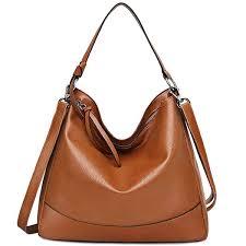genuine leather handbag hobo bag