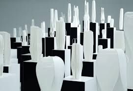 city of towers installation showcased