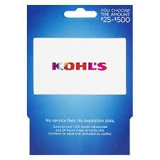 kohl s non denominational s16 gift card