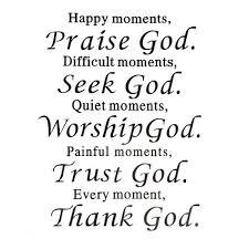 christian quote pray praise god diy art sticker home wall decal