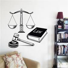 Vinyl Wall Decal Law Court Justice Decoration Mural Wall Stickers Book With Balance Wall Art Mural Decoration Full Wall Mural Decals Full Wall Stickers From Onlinegame 12 21 Dhgate Com