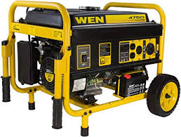 Amazon.com : WEN 56475 4750-Watt Portable Generator with Electric ...