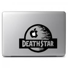 Star Wars Death Star Jurassic World Style Apple Macbook Air Pro 13 15 17 Vinyl Decal Sticker Dreamy Jumpers