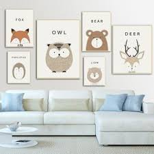 Owl Birth Print Blue Gray Owl Birth Announcement Owl Baby Shower Gift Neutral Nursery Decor Blue Gray Owl Nursery Wall Art Decor Owl Baby Gift Unframed Print Not Canvas Children S Room Decor