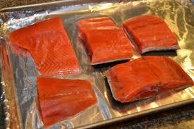 asian style baked salmon
