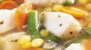 fish and vegetable soup recipe