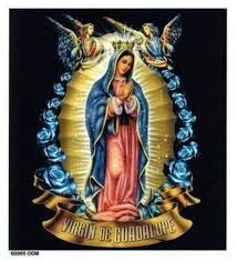 3 99 Beautiful Virgin Mary Blue Roses Virgin De Guadelupe Vinyl Sticker Car Decal Ebay Collectibles Virgem De Guadalupe Chicano Estilo Chicano
