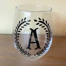 personalised custom initials name decal
