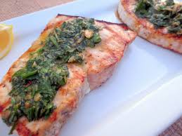 Grilled Swordfish with Caper Parsley ...