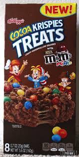 review kellogg s cocoa krispies treats
