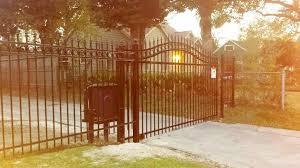 Wrought Iron Fence And Gates Houston Tx Installation Panels Supply