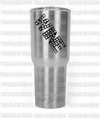 Arkansas Front Facing Razor Decal Sticker For Yeti Rtic Rambler Tumbler Coldster 5 99 Picclick