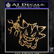 Pokemon Gengar Decal Sticker A1 Decals