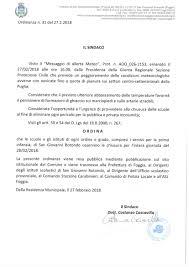 Chiusura delle Scuole per l'intera giornata del 28/02/2018 ...