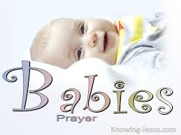 prayers for babies