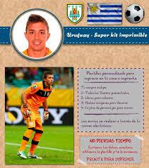 Kit Imprimible Uruguay Muslera Futbol Personalizado Candy