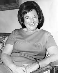 Mrs. Abraham Beame in an interview. 1965 Photograph by Anthony Calvacca