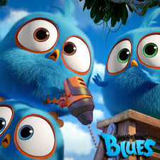 Angry Birds - WHO'S GOT THE BLUES? NOT US! 💙💙 We're happy ...