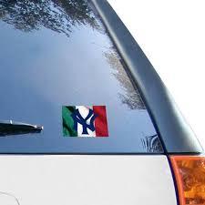 New York Yankees Wincraft 5 X 6 Multi Use Italian Flag Decal Iowa State Cyclones New York Yankees San Francisco Giants