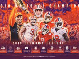 2019 clemson football wallpaper by