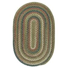 oval 5 x 7 braided area rugs