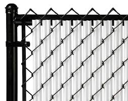 Brown 4ft Ridged Slat For Chain Link Fence For Sale Online Ebay