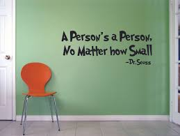 Dr Seuss A Person Is A Person Customized Wall Decal Custom Vinyl Wall Art Personalized Name Baby Girls Boys Kids Bedroom Wall Decal Room Decor Wall Stickers Decoration Size