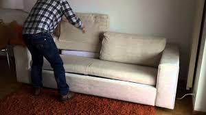 how do i set up the sofa bed you
