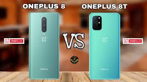 OnePlus 8T VS OnePlus 8 - YouTube
