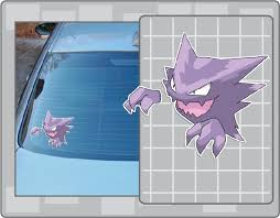 Haunter Vinyl Decal From Pokemon Car Window Laptop Decal Etsy