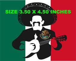 Mexico Flag Sticker Decal Bandera Car Desktop Bandera De Mexico The Macpag Store
