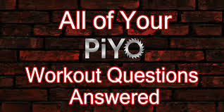 all of your piyo workout faqs answered