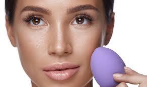 beauty blending makeup sponge