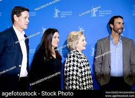 """25 February 2020, Berlin: 70th Berlinale, Photocall, Berlinale Special,  """"""""Hillary"""""""": Howard T, Stock Photo, Picture And Rights Managed Image. Pic.  PAH-200225-99-63344-DPAI 