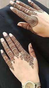Finger New Model Mehndi Design 2019