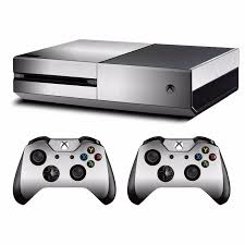 Metal Brushed Skin Sticker Decal For Microsoft Xbox One Console And 2 Controllers For Xbox One Skins Stickers Vinyl Stickers Aliexpress