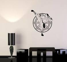 Wall Decal Karate Shaolin Tibet Monk Martial Arts China Vinyl Sticker Ed750 Ebay