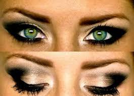 smokey eye makeup for green eyes 2020