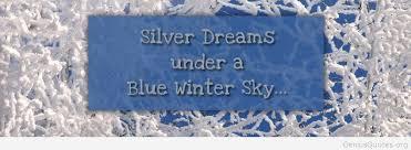 ▷ blue winter sky of winter quote genius quotes